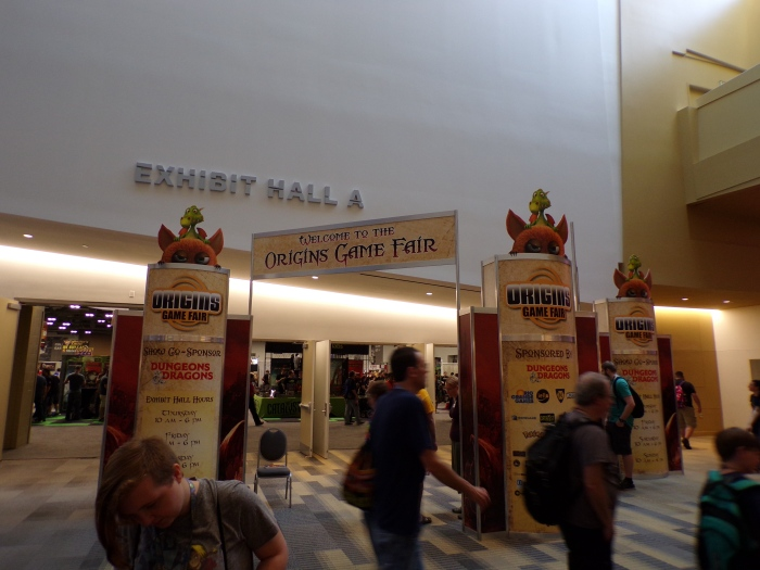 Origins 2017 Entrance