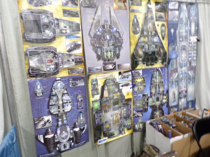 ShadowStar Corsairs Boardgame 25mm Scale Starship Deckplans