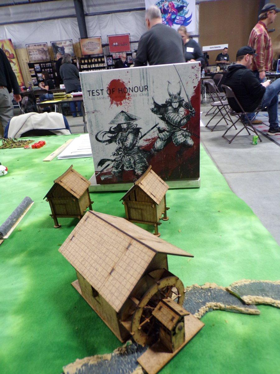 test of Honour Tabletop game, Buildings.