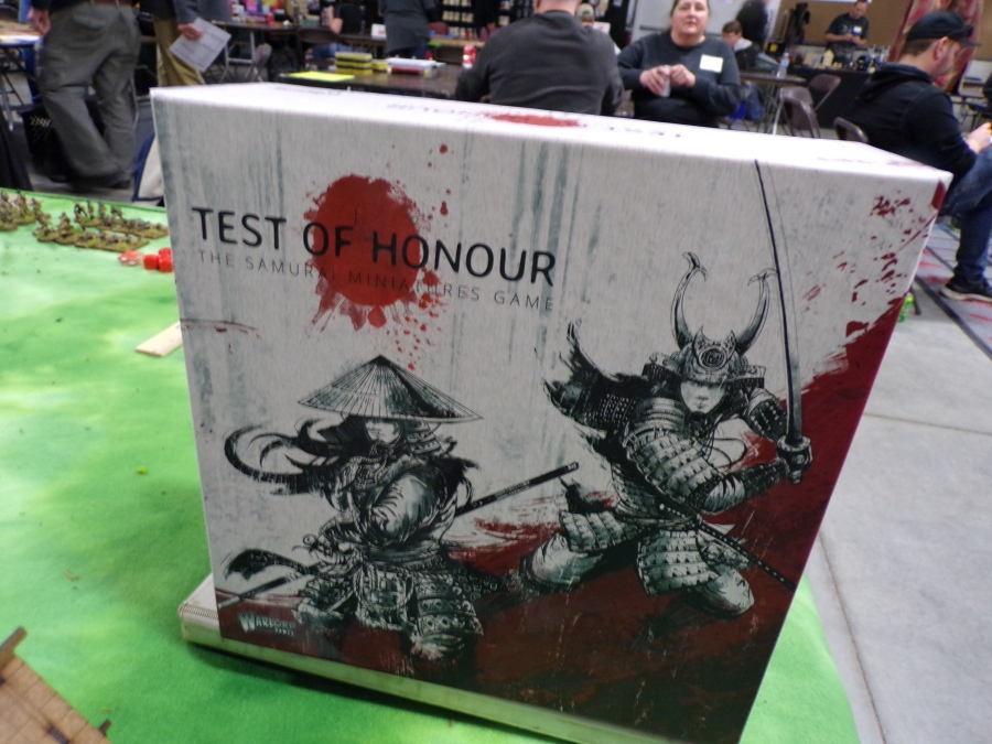 Test of Honour Samurai Tabletop Game