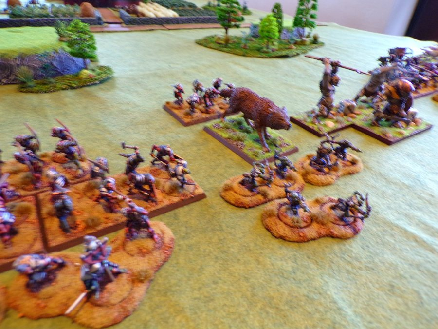 Warg, Goblins, & Troills for Middle Earth miniatures games sponsored by the Historical Miniatures gaming Society.
