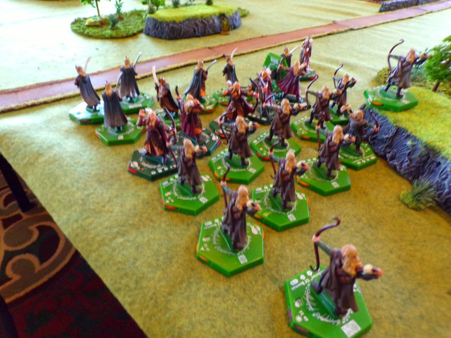 "Middle Earth High Elven Unit for The Historical Miniature Gaming Societies ""the Trouble at Westford"" scenario, or for the ""Beren & Luthien"" Scenario."