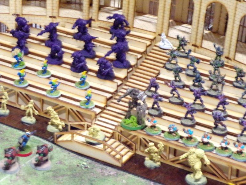 Blood Bowl tabletop Game Spectators
