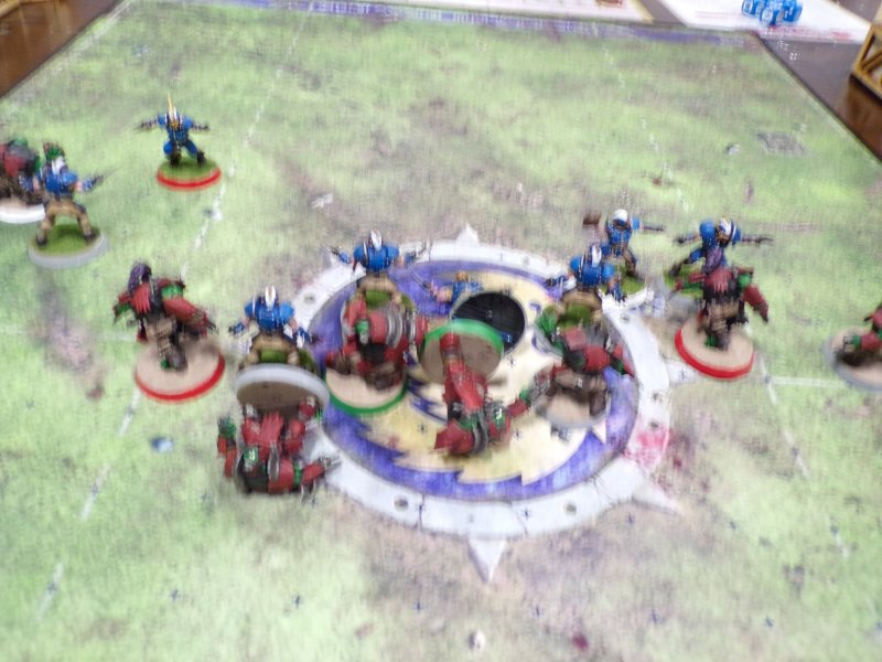 Blood Bowl tabletop Game Arena
