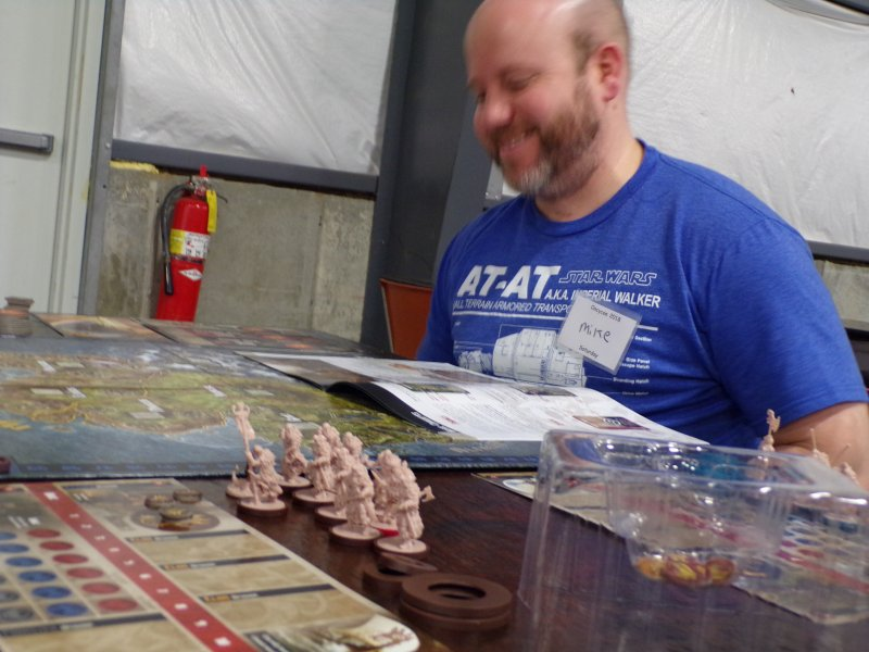 Blood Rage Boardgame Players