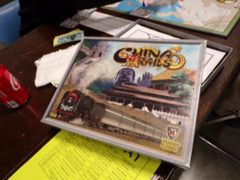 China Rails Boardgame