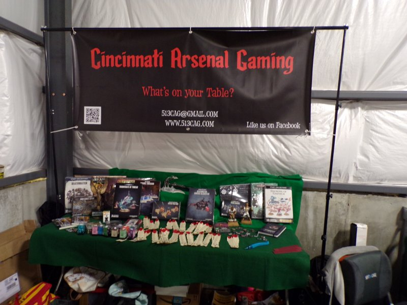 Cincinnati Arsenal Gaming Club Prizes