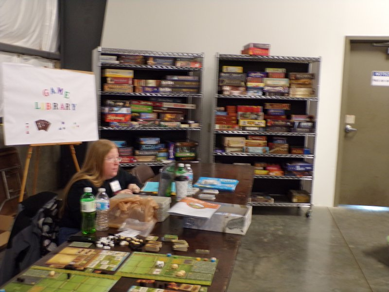 CincyCon Games Library, Try before you buy!