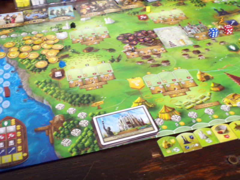 Fields of Arle playing board.