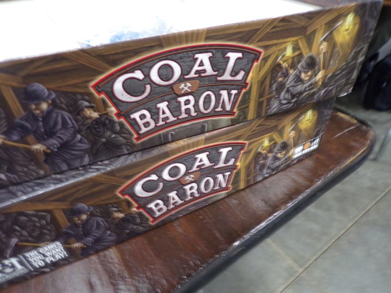 Coal Baron Boardgame