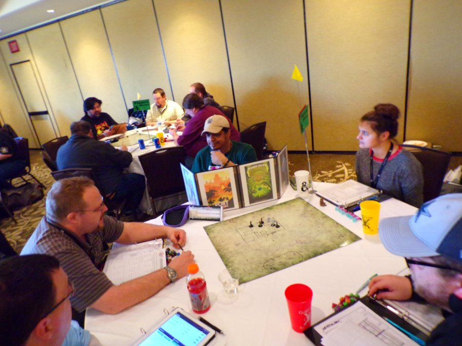 Even More Dungeon Crawl Classics! If Anyone ever told you that GaryCon was an Old School Gaming Convention, they would be completely accurate!