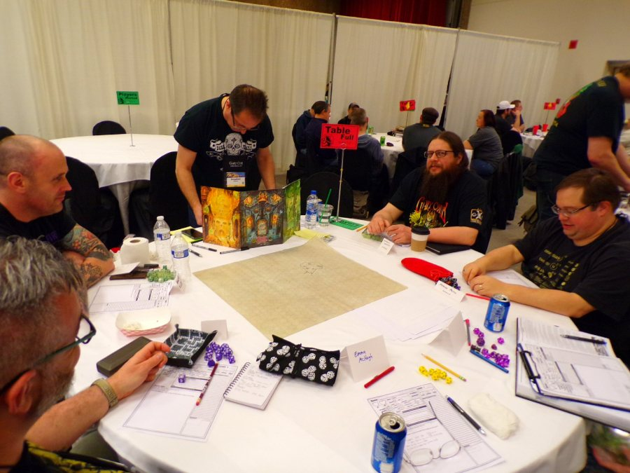 Dungeon Crawl Classics at GaryCon X