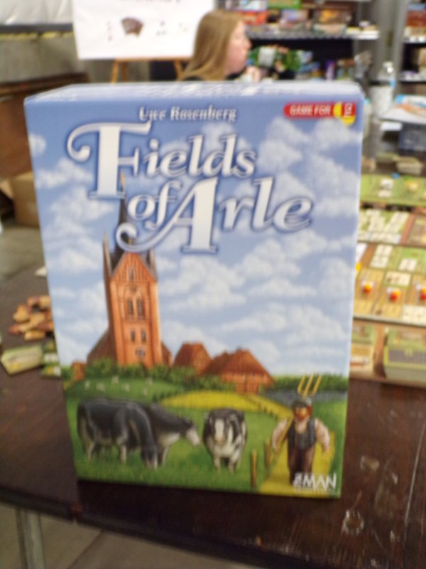 Fields of Arle Box Cover