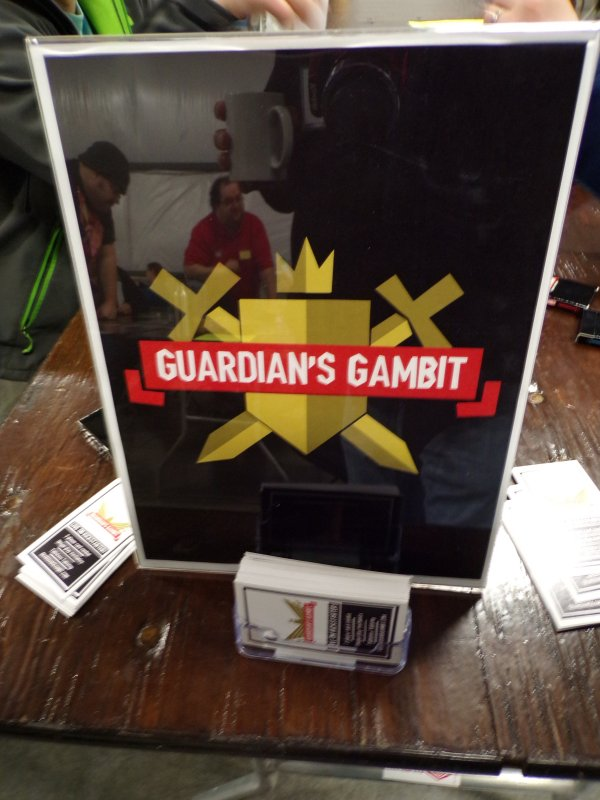 Guardian's Gambit Card Game