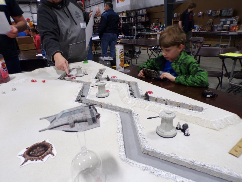 Land Speeders Defending, Star Wars: Battle for Hoth Miniatures Game