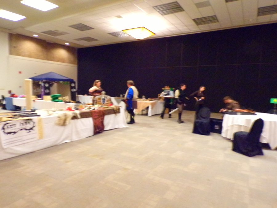 The Last Hope. Live Action Roleplaying Hall at Garycon X.