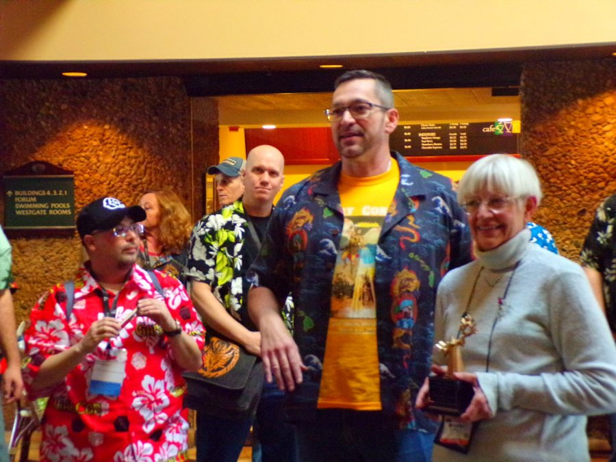 Margaret Weis receives the Gary Gygax Lifetime Achievement Award @ GaryCon X