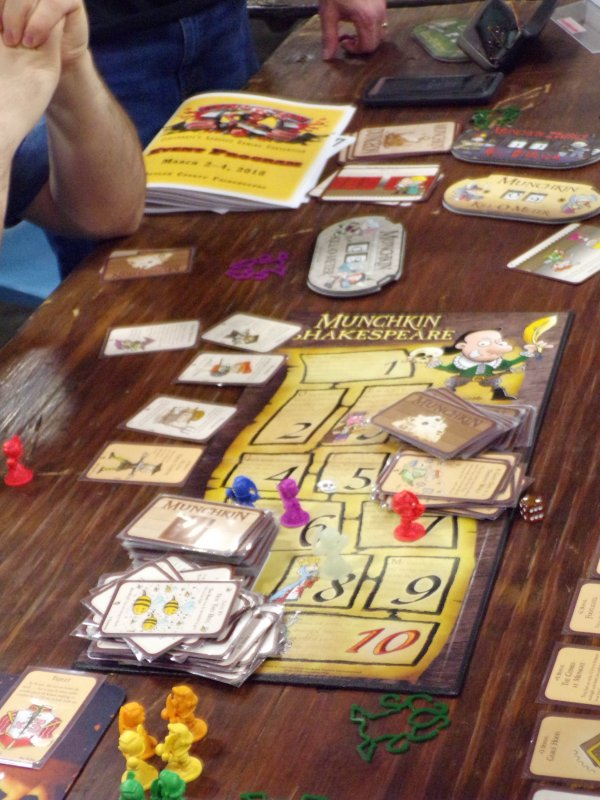 Steve Jackson Games, munchkin card game.