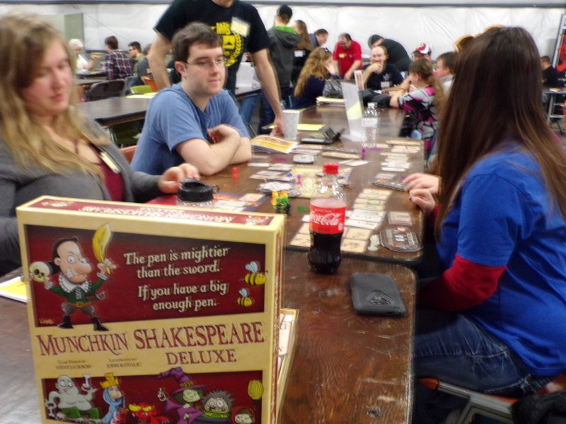 Munchkin Shakespeare card game.