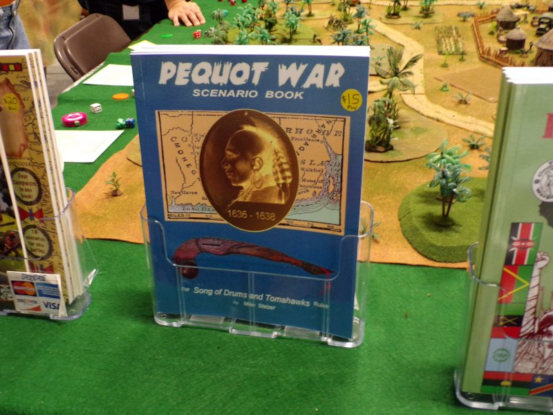 Pequot War, Native American Miniatures Wargame Rules.