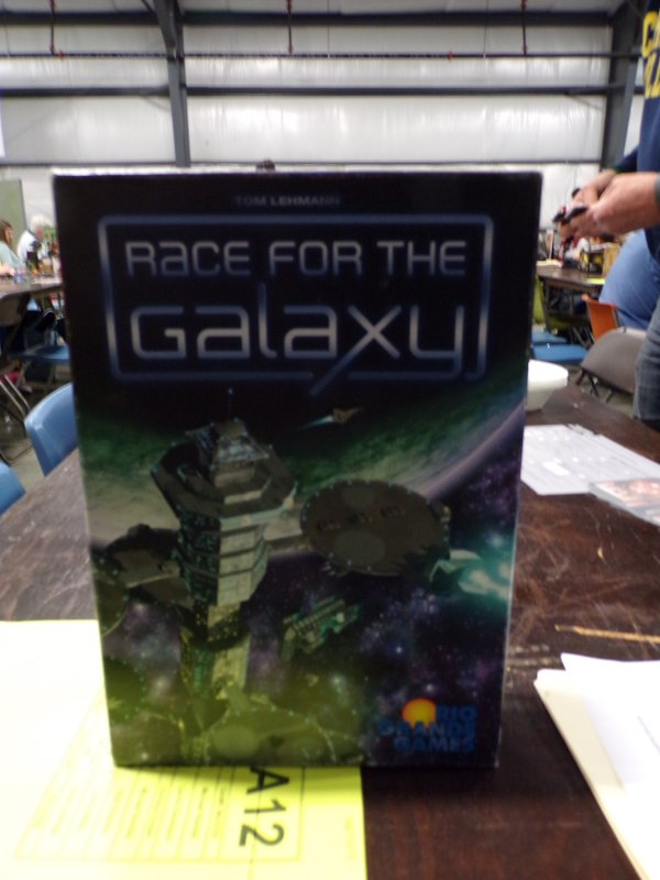 Race for the Galaxy Boardgame.