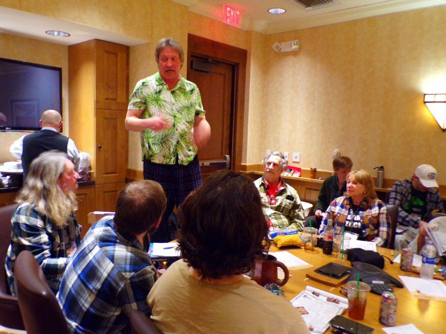 Bill Webb running a D&D Rappan Athuk game!