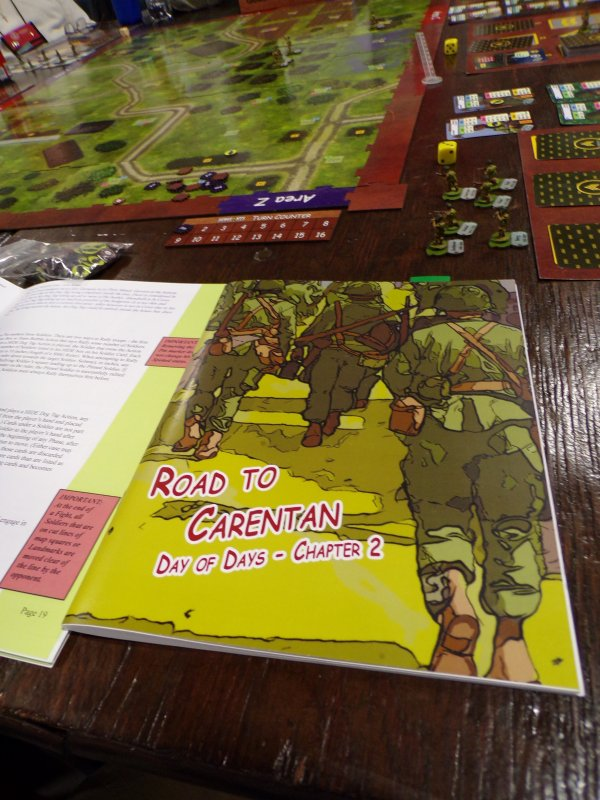 Road to Carentan Tabletop Minis Game