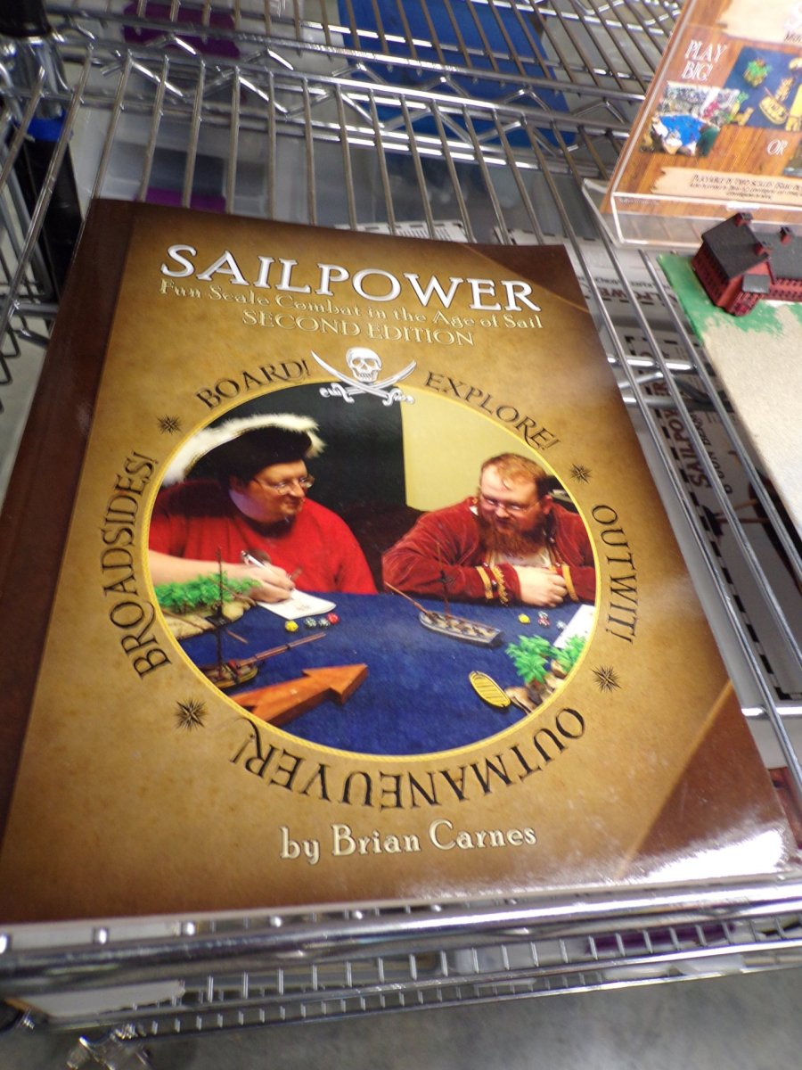 Sailpower Pirate Tabletop Game