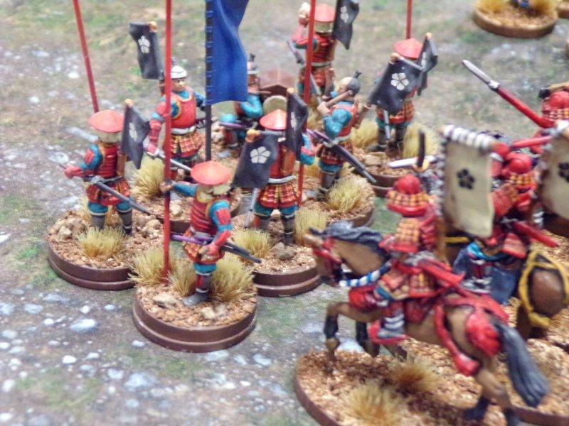 Samurai Footmen, Samurai Battles.