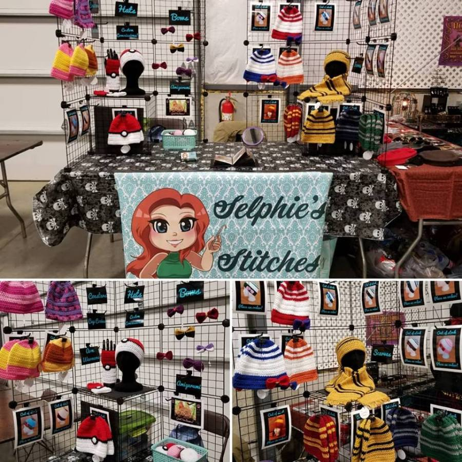 Selphie's Stitches CincyCon Booth