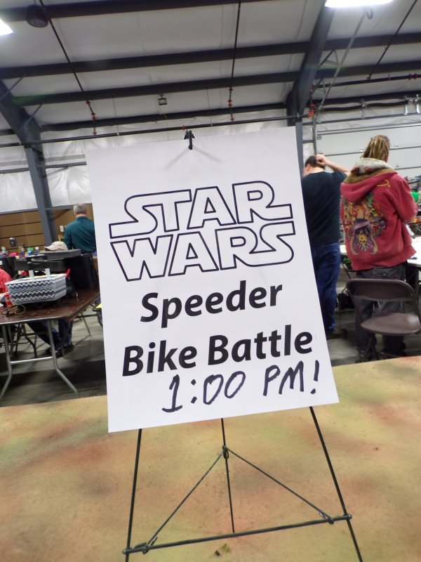 Star Wars Speeder Bike Battle Advertisement