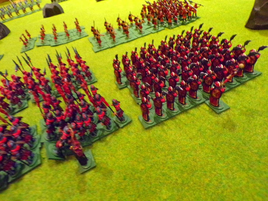 Empire of the Petal Throne Legions Attacking!