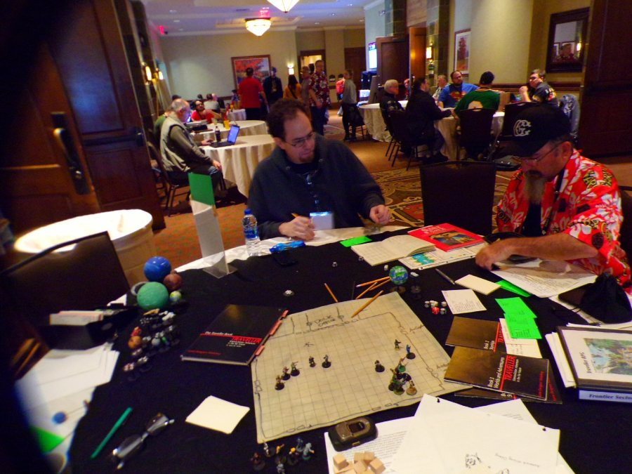 Traveller RPG, First pickup game underway!