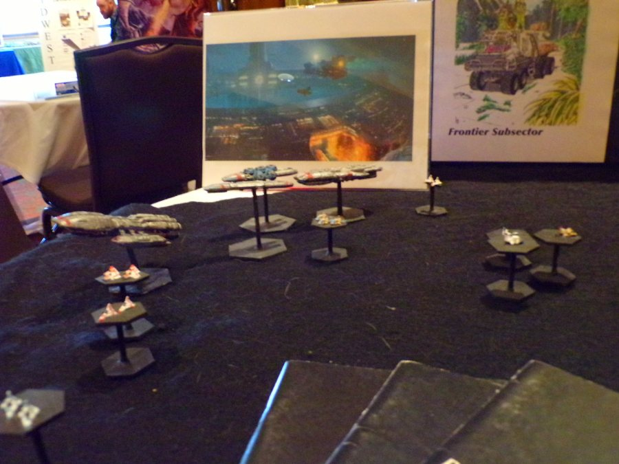 Traveller RPG Setup, Colonial Fleet