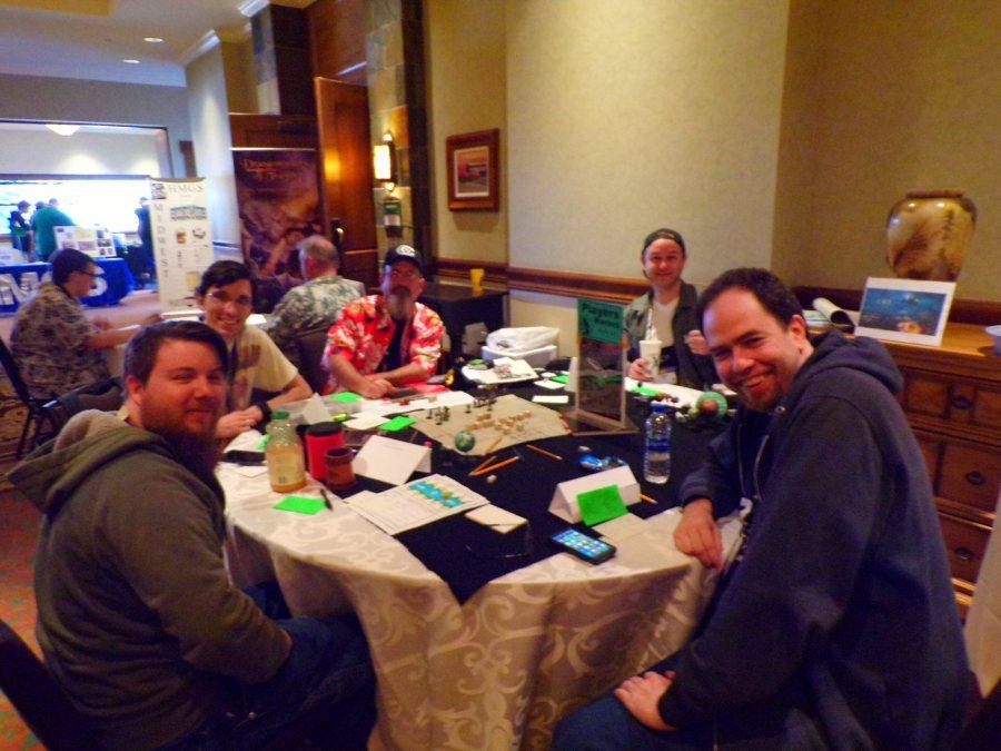 Traveller RPG Game, Second Group GMed by Michael Lingefelt.