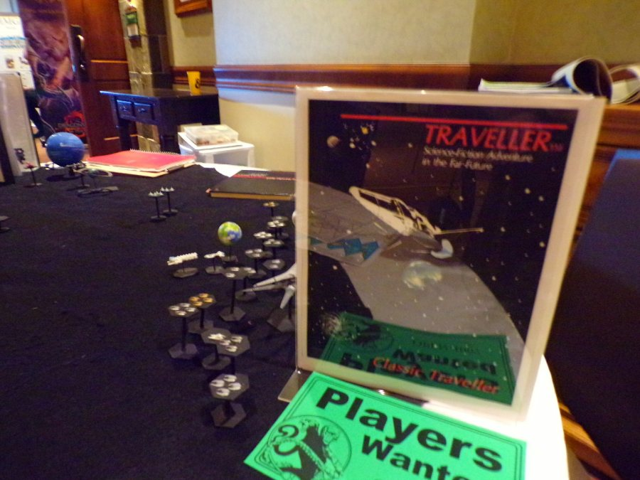 My Traveller RPG Table Setup