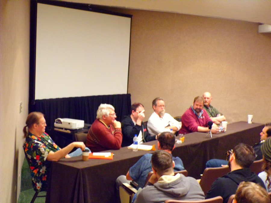 TSR Panel @ GaryCon X, Skip Williams, Merle Rasmussen, Mike Mearls, Zeb Cook, Ed Stark, & Steve Winter