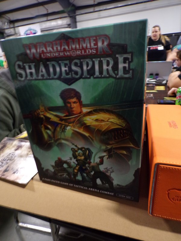Warhammmer Shadespire Boardgame Box Cover