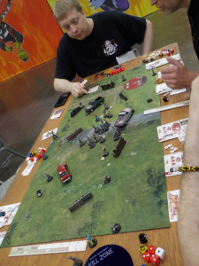 The Walking Dead Minis Game