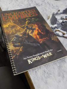 Kings of War Miniatures game