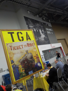 Train Gamers Association + Ticket to Ride
