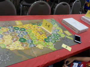 Settlers Across America - Not a train game, but played by the RGA. Looks pretty ZGood!