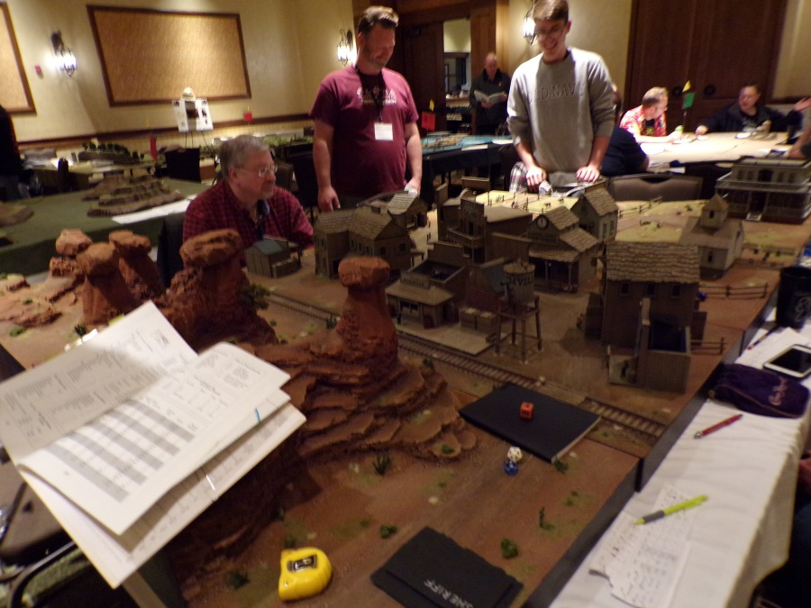 Paul Stormberg's Boot Hill, This beautiful table became an instant favorite in the  Legends of Wargaming room for 2019!