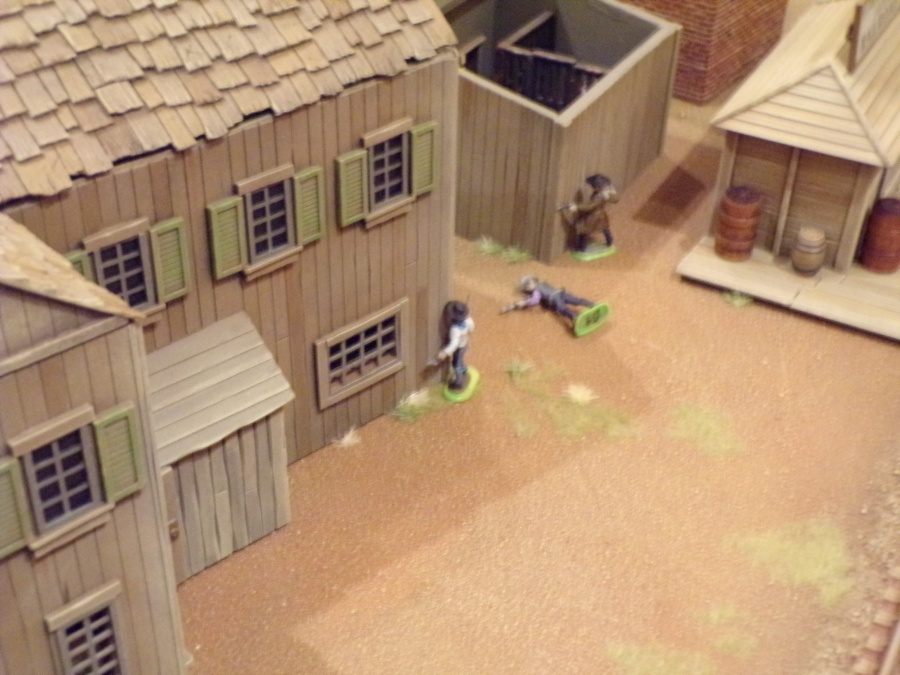 Another no good varmint bites the dust! TSR's Boot Hill @ GaryCon XI