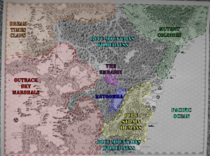 Gamma World RPG Australia Political final map