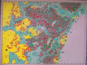 Sydney, Gamma World RPG Campaign Map