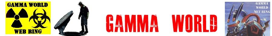 Gamma World RPG Banner