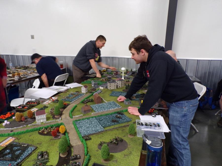 CincyCon Flames of War tabletop Tournament