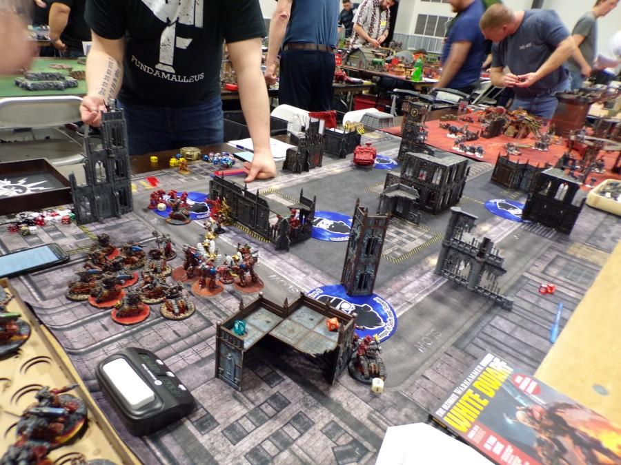 cincy arsenal gamers warhammer tournament