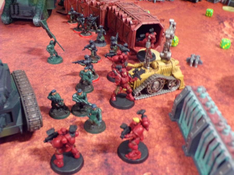 Warhammer 40k Miniatures Sci-Fi Battles